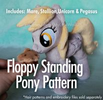 Floppy Standing Pony Pattern by ButtercupBabyPPG