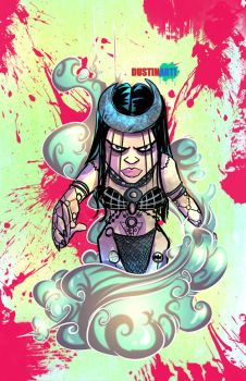Enchantress from Suicide Squad by DustinEvans
