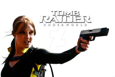 Cosplay Lara Croft Tomb Raider Underworld Wetsuit by MissCroftCosplay