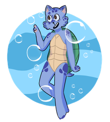 commission: turtlecat! by sendmeapeach