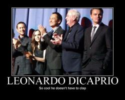 DiCaprio by paintmytears