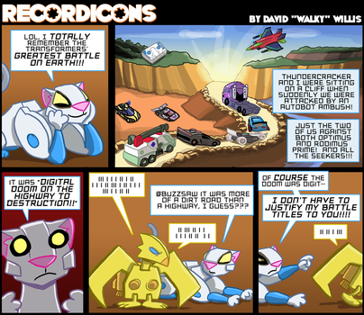Recordicons #3 by itswalky