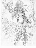 Witchblade-5 by Fusciart