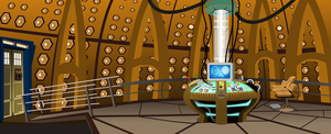 Tardis Inside by Vector-Brony