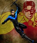 Nightwing. by RamonVillalobos
