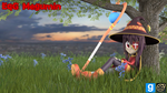 [DL] EqG Megumin by MythicSpeed