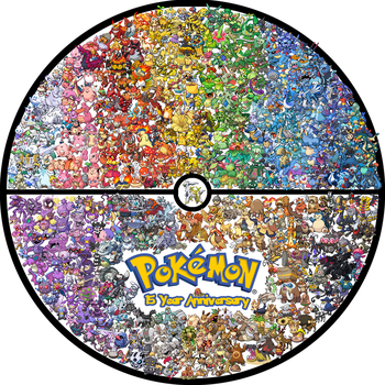 15th Pokemon Anniversary by THEBIONICBOI