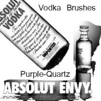 Vodka Brushes by Purple-Quartz-Brush