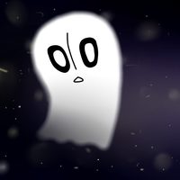 Napstablook (UNDERTALE) by WhenGirIsInTheTARDIS