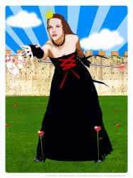 Queen of Wonderland by mj-coffeeholick