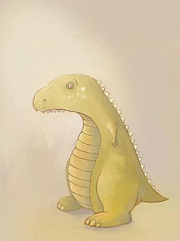 Little green dino by TinyPilot