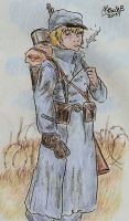 Aethian Infantry soldier by Shabazik