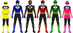 REQUESTED: Bunpo Sentai Mushiger by zaphod616