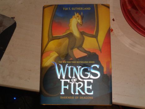 Wings of Fire:  Darkness of Dragons by trainman666