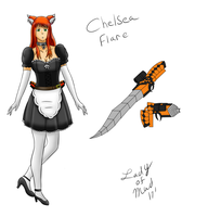 Chelsea Flare - RWBY OC Vol 1 by george3222