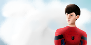 Spider-Man Tom Holland by VenomDesenhos