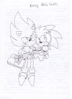 Sonic the Hedgehog X Amy Rose by LiJacob888