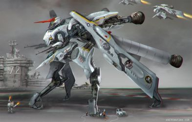 Mecha Jet Fighter - CONDOR by emersontung