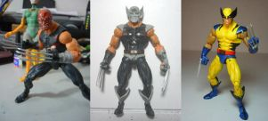 wolverine custom action figure by hugohugo