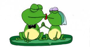 Married Frogs by Shiray21
