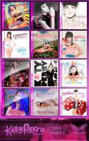 Katy Perry Albums and Singles Icons HD! by Sinfrid
