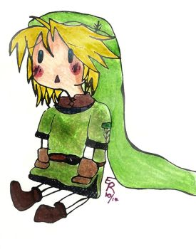 Chibi Link by MexicanSeafoodCobain