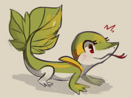 Nancy the Snivy by Flavia-Elric