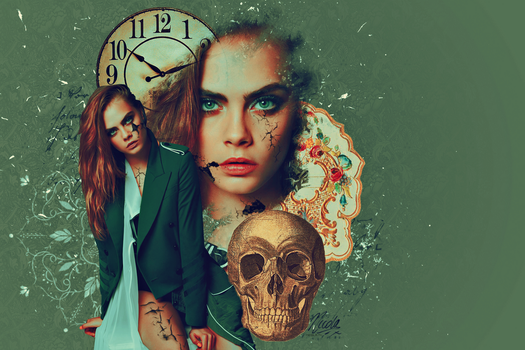 Cara Delevinge by FallennHalo