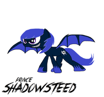 Prince Shadowsteed Revisited by TRC-Tooniversity