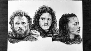 Game of thrones drawing by mathijs050