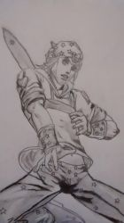 Johnny Joestar by CAZTZ
