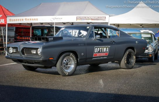 Plymouth Barracuda 340 I by TheGeekAndTheEOS