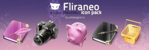 Fliraneo icon pack by lazymau