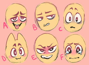 Expression YCH Unlimited Slots by StellarxKid