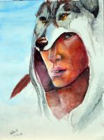 Indian face by Max-Zorin