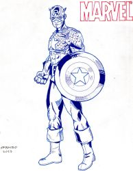 Captain America by GraphicNaitsirch