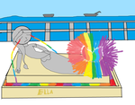 ETCMDA Rainbow electric by OffClaireBlue2001