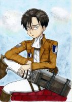 Levi by Iskeanime16