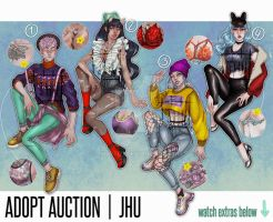 [CLOSED] Adopt auction | JHU by JHUffizi