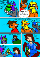 Dusk's Retarded Adventure: Day 4 page 5 by DuskDragonXIII