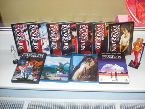 My Evangelion Collection by Tyrann1990