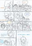 Kyle's birthday comic page FINALE (south park) by Kitshime-SP