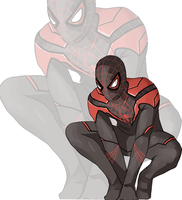 Ultimate Spider-man by isansesu0803