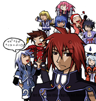 Tales of Symphonia by erushi
