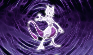 Mewtwo Wallpaper by Viatrice