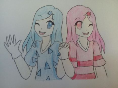 Contest Entry: The Cotton Candy Twins by academian