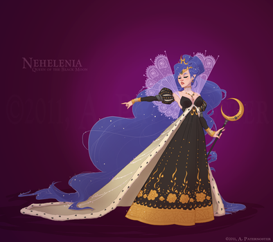 Historical Queen Nehelenia by paisley
