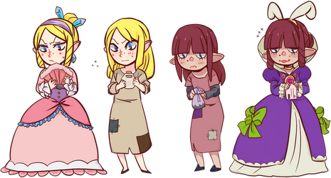 Windfall Girlies by garuye