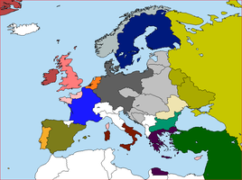 Post-War Europe, dissolution of Austria-Hungary by lamnay