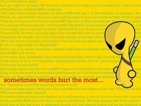 sometimes words hurt the most by neo-tek